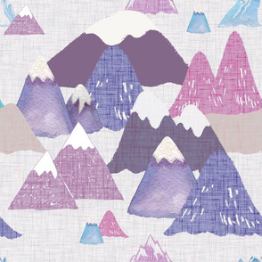 purple mountains are calling