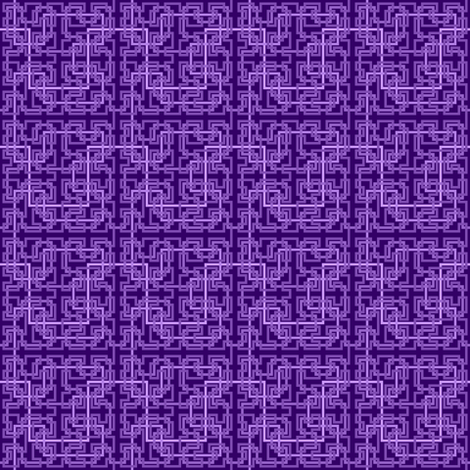 07033572 : Hilbert 4 : violet fabric by sef on Spoonflower - custom fabric