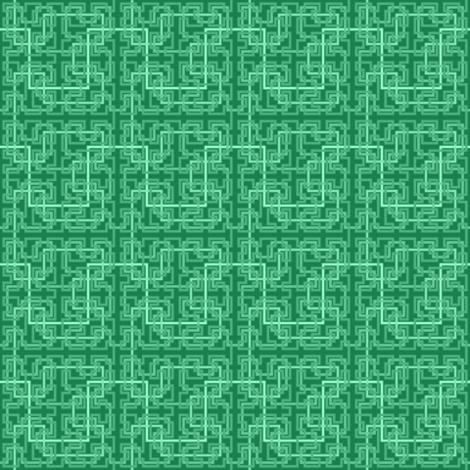 07033649 : Hilbert 4 : jade green fabric by sef on Spoonflower - custom fabric