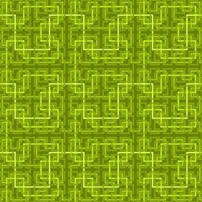07033675 : Hilbert 4 : chartreuse green