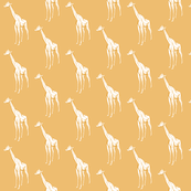yellow geometric giraffe