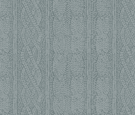 Knit in Green fabric by lburleighdesigns on Spoonflower - custom fabric