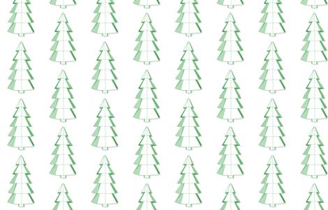 geometric spruce fabric by sofsdesigns on Spoonflower - custom fabric
