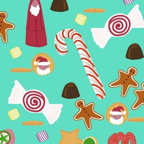 Christmas Sweeties in Tiffany Aqua