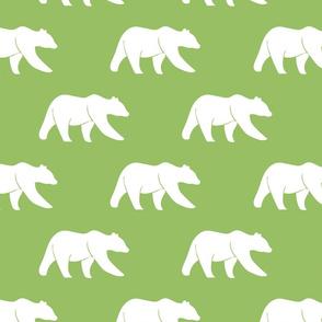 bears - custom green