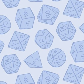 Gaming Dice - Blue