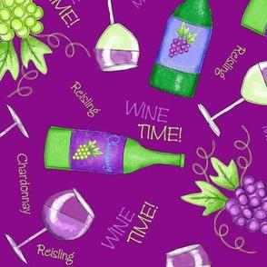 Wine Time Magenta