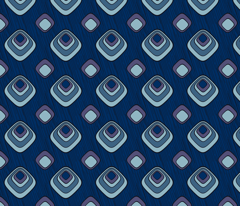 PeacockRetro-Large fabric by fibrefreak on Spoonflower - custom fabric