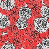 Rgingerbread-flowers_redwoodgrain-flat_shop_thumb
