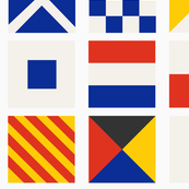 Nautical Bunting- Maritime Signal Flags