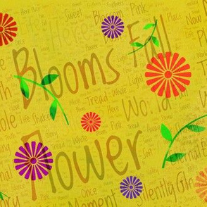 Flowers Poem Art