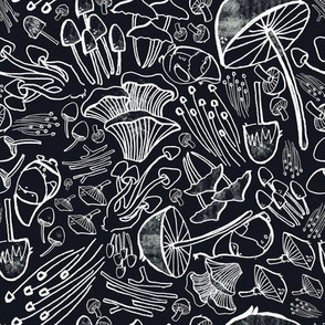 Mushroom Chalkboard