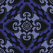 Rheart_tribal_fabric_8in_midnight-01_shop_thumb