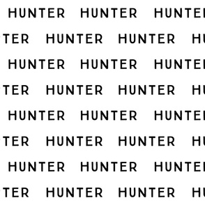 hunter fabric