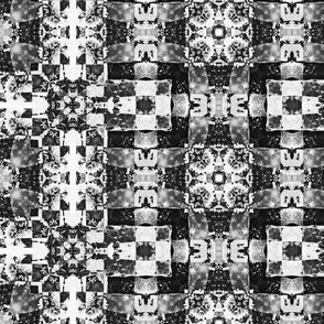 black white weave