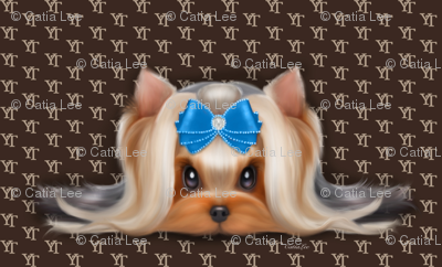Yorkie Beauty YT Blue XL