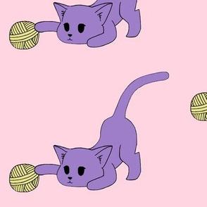 Kitty and her Yarn
