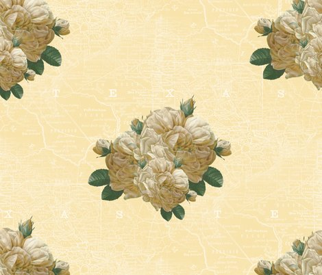 Rredoute-yellow-rose-of-texas-dusty-trails-white-on-country-house-peacoquette-designs-copyright-2017_shop_preview