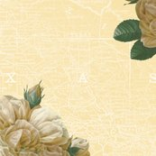 Rredoute-yellow-rose-of-texas-dusty-trails-white-on-country-house-peacoquette-designs-copyright-2017_shop_thumb