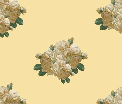 Rredoute-yellow-rose-of-texas-dusty-trails-on-country-house-peacoquette-designs-copyright-2017_shop_preview