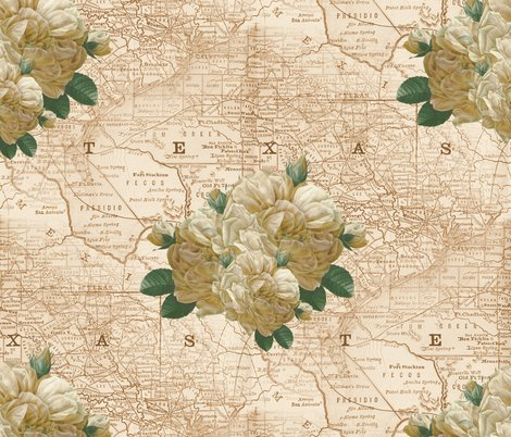 Rredoute-yellow-rose-of-texas-dusty-trails-peacoquette-designs-copyright-2017_shop_preview