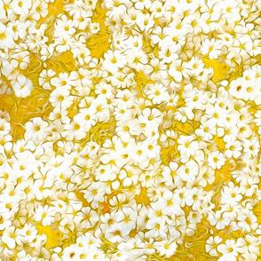 White Orange Bouquet repeat
