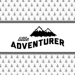 """2 yard minky (54"""" width)  Little Adventurer panel"""