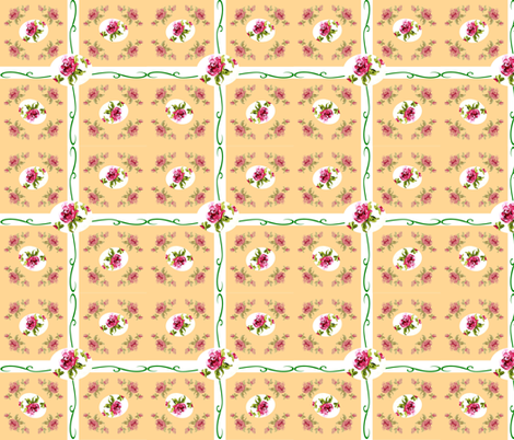 hryellowpub300 fabric by suereaddesigns on Spoonflower - custom fabric