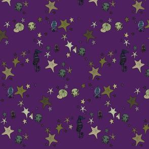 Starfish true purple