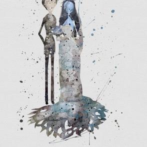 Corpses Bride Watercolor