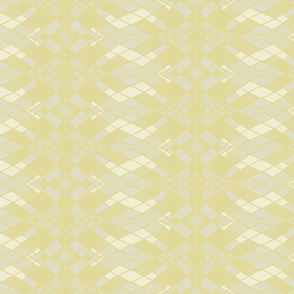 Ombre Diamonds in Khaki, Pale Goldenrod and Antique White, Vertical