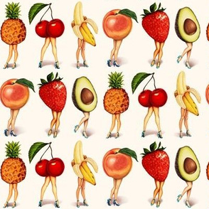 Fruit Girls 2.5""