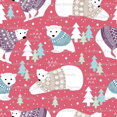 Polar Bears in Sweaters