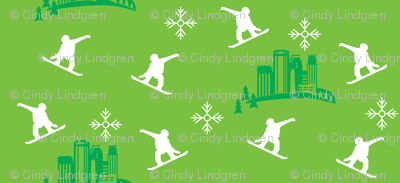 Minneapolis snowboarder