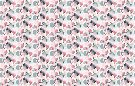 Ice Cream Dream - Small Scale - by Friztin fabric by friztin on Spoonflower - custom fabric