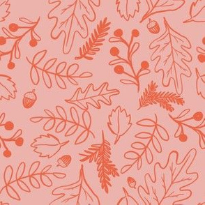 Painted woodland pink