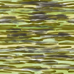 Green paint horizontal
