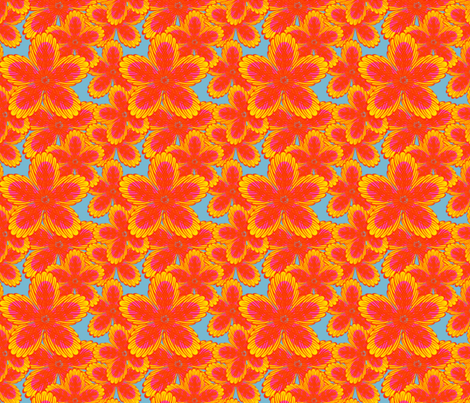 BRAZILIAN AUTUMN fabric by clairecoloursme on Spoonflower - custom fabric