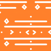 Orange Tribal