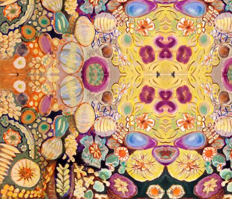 Molecular Outburst fabric by joyce_lieberman on Spoonflower - custom fabric
