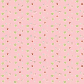 Hearts Afloat SMALL -petal