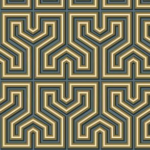 Greek style labyrinth