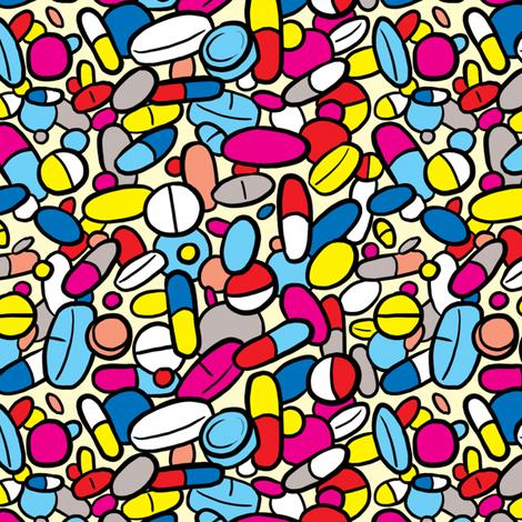 The Medicine fabric by rosalarian on Spoonflower - custom fabric