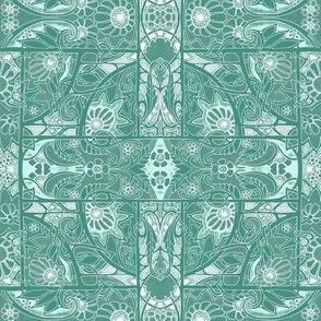 Green Tile Garden