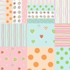 sweet treats 2118  wholecloth quilt 2 - petal