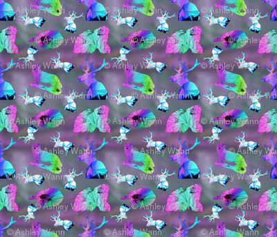 Prismatic Arctic Animals