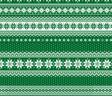 Nordic  Scandinavian Christmas GN2 fabric by sssowers on Spoonflower - custom fabric