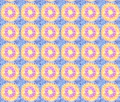 Jelly Donuts fabric by revolutionaryvision on Spoonflower - custom fabric