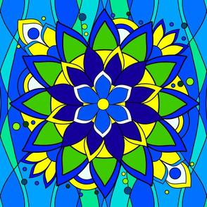 Big Flashy Flower Color V3