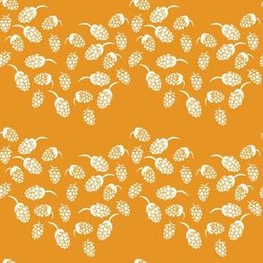 chevron blackberries in orange